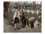 The Sojourn, Egypt, Illustration for 'The Life of Christ', C.1886-94 Giclee Print by James Jacques Joseph Tissot