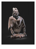Figure of a Mayan Seated King, from the Isle of Jaina Giclee Print by Mayan