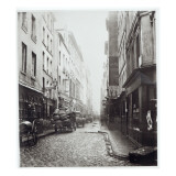 Rue De La Grande Truanderie, from the Rue Montorgueil, Paris, 1858-78 Giclee Print by Charles Marville