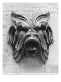 Fountain of the Four Seasons, Rue De Grenelle, Detail of the Left Grotesque Mask, 1739-46 Giclee Print by Edme Bouchardon
