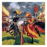 The Pastimes of Our Ancestors: When Knights Were Bold Giclee Print by  Mcbride