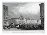 Smithfield Market from the Barrs, Engraved by Thomas Barber, C.1830 Giclee Print by  Shepherd