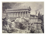 Temple of Diana at Ephesus from a Series of the 'seven Wonders of the Ancient World', 1886 Giclee Print by Ferdinand Knab