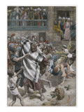 Jesus before Herod, Illustration from 'The Life of Our Lord Jesus Christ', 1886-94 Giclee Print by James Jacques Joseph Tissot