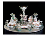 Part of a Meissen Dinner Service Ordered by Frederick the Great for General Von Mollendorf Giclee Print by Johann Joachim Kaendler
