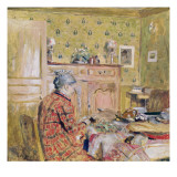 The Artist&#39;s Mother Taking Breakfast, 1899-1904 Reproduction proc&#233;d&#233; gicl&#233;e par Edouard Vuillard
