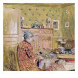 The Artist's Mother Taking Breakfast, 1899-1904 Giclée-Druck von Edouard Vuillard
