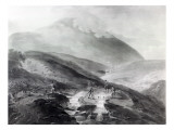 Gold Mines, County of Wicklow, Engraved by John Bluck, 1804 Giclee Print by Thomas Sautelle Roberts