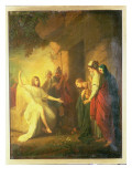 The Women at the Sepulchre - the Angel at the Tomb of Christ, 1768 Giclee Print by Benjamin West