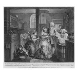 Married to an Old Maid, Plate V from 'A Rake's Progress', 1735 Giclee Print by William Hogarth