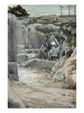 The Two Marys Watch the Tomb, Illustration for 'The Life of Christ', C.1886-94 Giclee Print by James Tissot