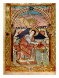 Lat 8850 F.81V St. Mark, French, from the Court School of Charlemagne Giclee Print by  French School