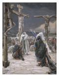 The Death of Jesus, Illustration for 'The Life of Christ', C.1884-96 Giclée-tryk af James Tissot