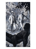 Henry Walter Bates and Alfred Russel Wallace Premium Giclee Print by Severino Baraldi