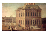 View of Ranelagh House and Gardens, and the Chelsea Hospital Giclee Print by Joseph Nickolls
