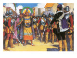 Pizarro Spurned the Friendship of the King of the Incas Giclée-trykk av Alberto Salinas