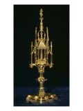 Reliquary Monstrance with Piece of Cross, Augsburg, C.1490 Giclee Print by  German School