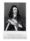 Richard Lovelace, Drawn by W. Green and Engraved by Charles Pye Giclee Print by William Dobson