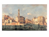 Grand Canal: San Geremia and the Entrance to the Canneregio Giclee Print by  Guardi
