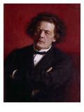 Portrait of Anton Grigoryevich Rubinstein, 1881 Giclee Print by Ilya Efimovich Repin
