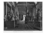 First View of the Introductory Room, Musee Des Monuments Francais, Paris Giclée-Druck von Jean Lubin Vauzelle