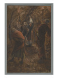 The Chasm in the Rock in the Cave Beneath Calvary Giclee Print by James Jacques Joseph Tissot