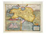 The Expedition of Alexander the Great, from the 'Theatrum Orbis Terrarum', 1603 Giclee Print by Abraham Ortelius