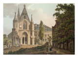 The College De Navarre in Paris, Engraved by I. Hill, 1809 Giclee Print by John Claude Nattes