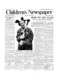 Coco the Clown, Front Page of 'The Children's Newspaper', January 1954 Giclee Print by English School