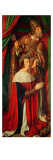 Peter Ii De Beaujeu of Bourbon with St. Peter, Left Wing of the Bourbon Altarpiece Giclee Print by  Master of Moulins
