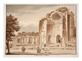 The Temple of Venus after Being Cleared Up, 1833 Giclee Print by Agostino Tofanelli