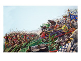 The Wonderful Story of Britain: the Battle of Agincourt Giclee Print by Peter Jackson