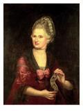 Anna Maria Mozart, Nee Pertl, Mother of Wolfgang Amadeus Mozart, 1775 Giclee Print by Pietro Antonio Lorenzoni