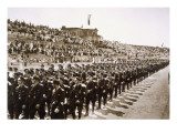 Parade of Newly Formed Ss in the Deutsches Stade, Nuremberg, 11th-13th August, 1933 Giclee Print by German Photographer 