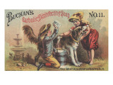 Advertisement for Buchan's Carbolic Disinfecting Soap No. 11, C.1880 Premium Giclee Print by  American School