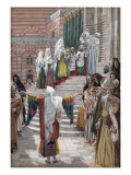 The Presentation of Christ in the Temple, Illustration for 'The Life of Christ', C.1886-94 Giclee Print by James Tissot