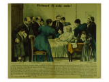 Bismarck's Death in Friedrichsruh on the 30th July, 1898 Giclee Print by  German School
