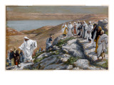 Christ Sending Out the Seventy Disciples, Two by Two Giclee Print by James Tissot