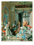 The Prayer of the Faithful Shall Cure the Sick Giclee Print by John Frederick Lewis