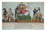 Lavoisier, the Comite De Surete Generale and Malesherbes, 18th Century Giclee Print by Pierre Antoine Lesueur