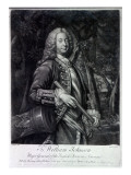 Sir William Johnson, Engraved by Charles Spooner, 1756 Giclee Print by T. Adams