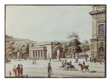 The New Watch House, Next to the Armoury, Berlin Giclee Print by F.A. Calau