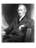 George Stephenson, Engraved by Charles Turner, 1838 Giclee Print by Henry Perronet Briggs