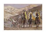 The Wise Men Journeying to Bethlehem, Illustration for 'The Life of Christ', C.1886-94 Giclee Print by James Tissot