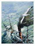 Sir Ernest Shackleton's Antarctic Expedition on the Quest 1921-22 Giclee Print by C.l. Doughty
