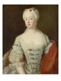 Crown Princess Elisabeth Christine Von Preussen, C.1735 Giclee Print by  Pesne