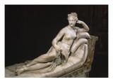 Pauline Bonaparte as Venus Triumphant, C.1805-08 Giclee Print by Antonio Canova