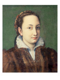Self Portrait, Attired as Maid-Of-Honour to the Queen of Spain, 1559 Giclee Print by Sofonisba Anguissola