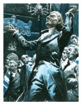 William Wilberforce Speaking Out Againstslavery in the House of Lords Giclee Print by C.l. Doughty