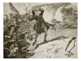 The Assault of Athlone, Illustration from &#39;Cassell&#39;s Illustrated History of England&#39; Giclee Print by William Barnes Wollen